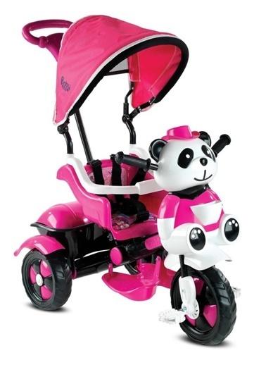 BabyHope 127 Little Panda 3 Tekerlekli Itmeli Bisiklet Pembe